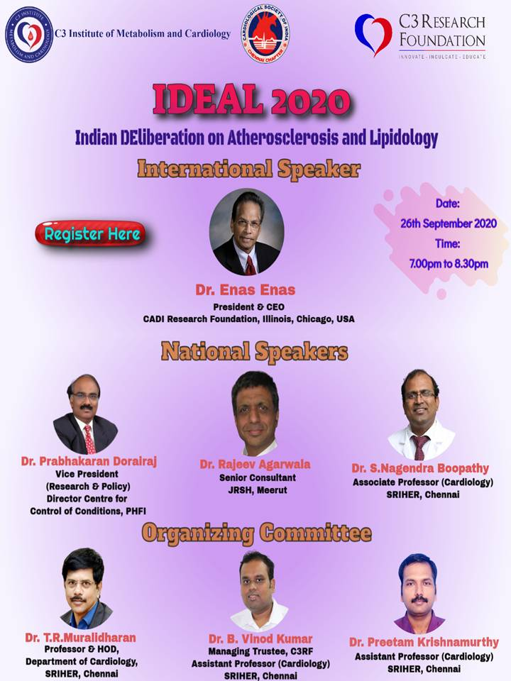Indian DEliberation on Atherosclerosis and Lipidology - IDEAL 2020