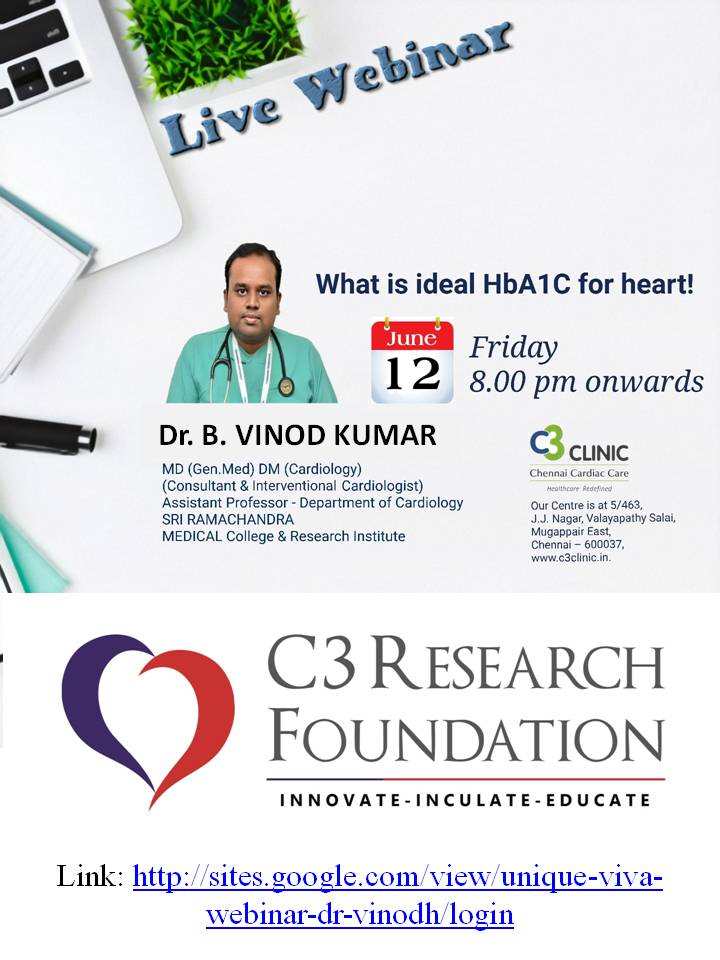 What is Ideal HbA1C for heart?