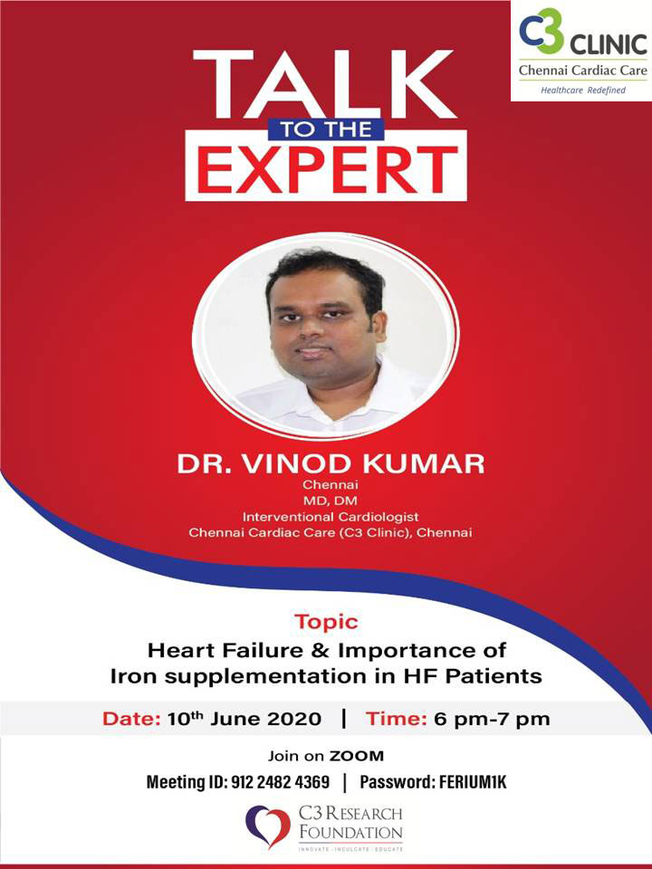 Talk to the Expert with Dr.Vinod Kumar