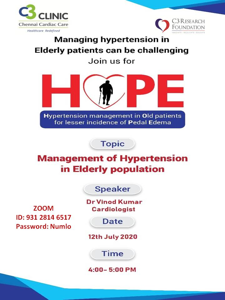 Management of Hypertension in Elderly population