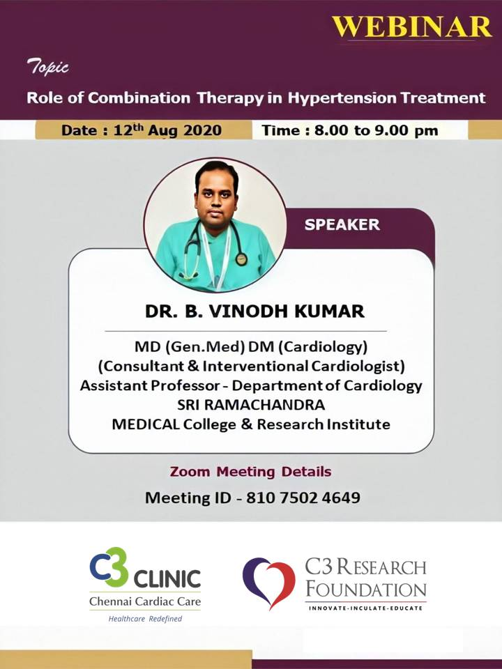 Role of combination therapy in hypertension treatment
