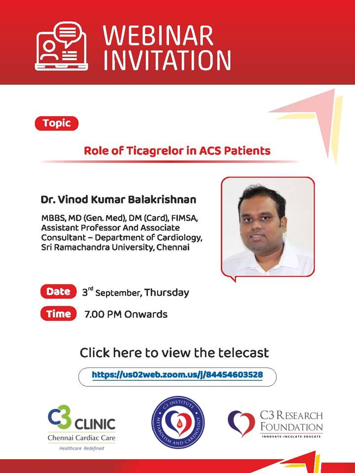 Role of Ticagrelor in ACS Patients