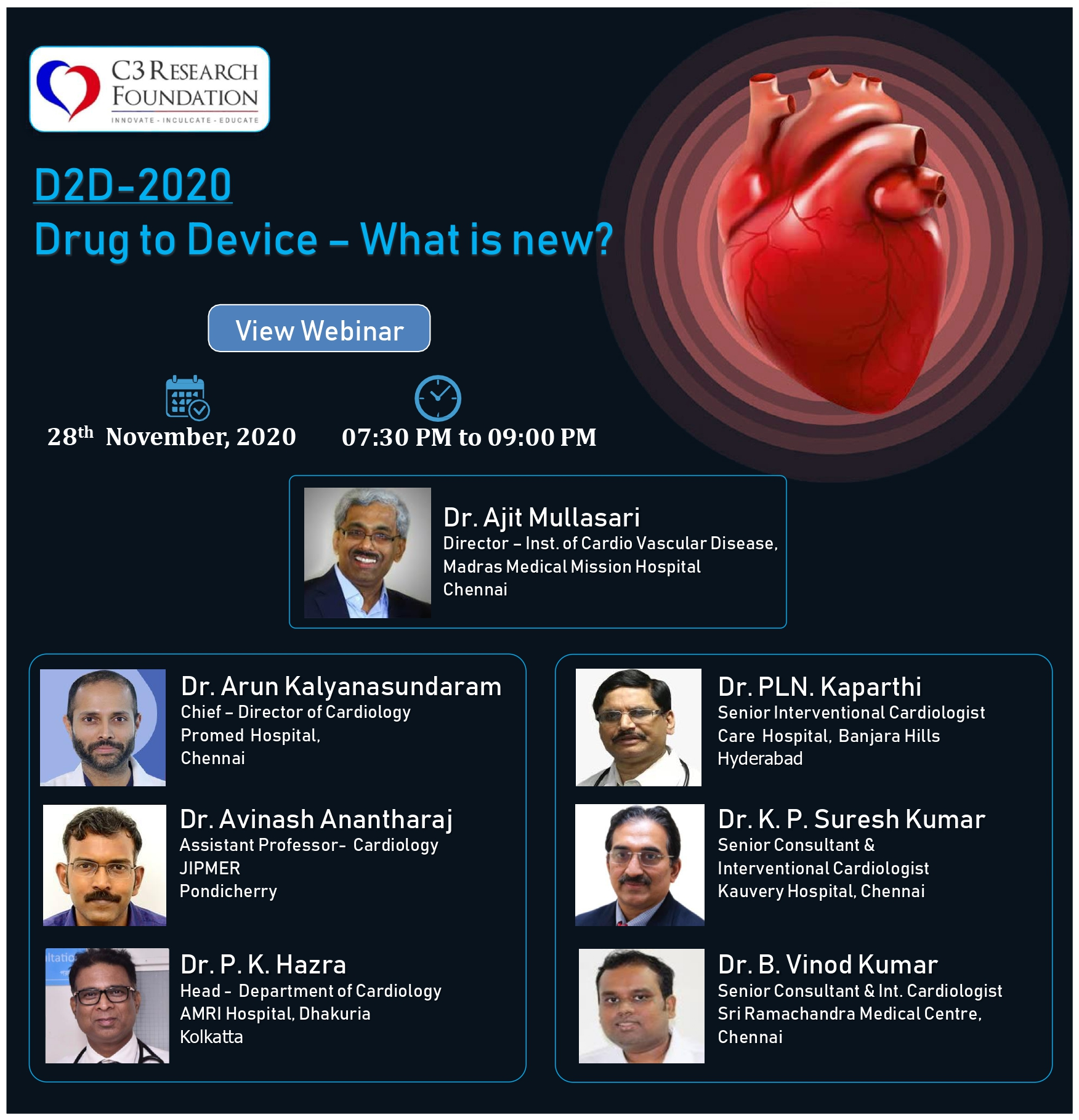 D2D 2020 - Drug to Device - What is New?